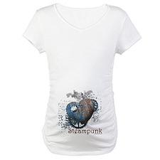 Steampunk love riveted heart Shirt