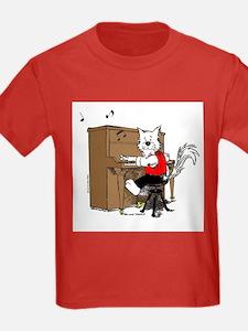 Piano Cat Apparel T