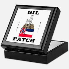 Mississippi Oil Patch Keepsake Box,Oil,Gas