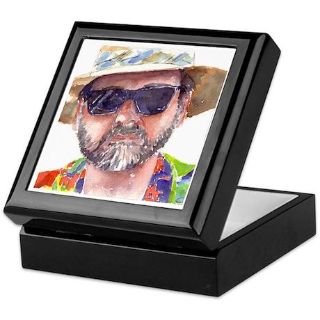 Man in Hat Keepsake Box
