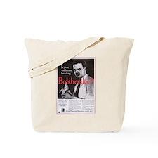 Vintage Boshevik Ad Tote Bag
