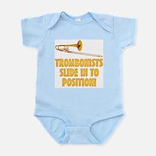 Trombonists Slide In Infant Bodysuit