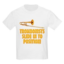 Trombonists Slide In T-Shirt