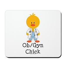 OB/GYN Chick Mousepad