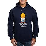 OB/GYN Chick Hoodie (dark)