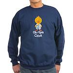 OB/GYN Chick Sweatshirt (dark)
