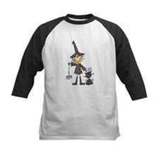 Witch and Cat Tee
