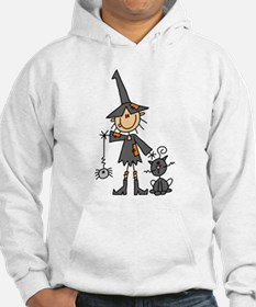 Witch and Cat Hoodie