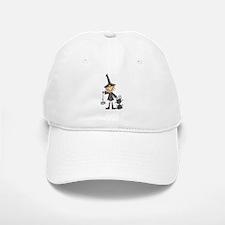 Witch and Cat Baseball Baseball Cap