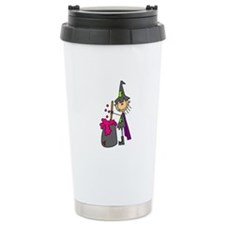 Witch and Brew Travel Coffee Mug