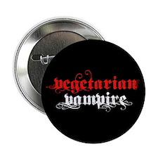 "Vegetarian Vampire 2.25"" Button"