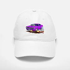 Cuda Purple Car Baseball Baseball Cap