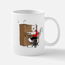 Piano Cat Mugs Mug