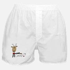 Dasher Reindeer Boxer Shorts
