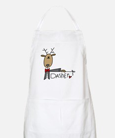 Dasher Reindeer BBQ Apron