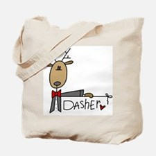 Dasher Reindeer Tote Bag
