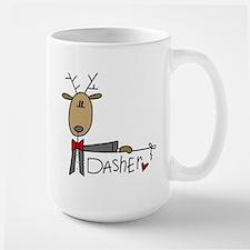 Dasher Reindeer Mug