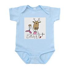 Dancer Reindeer Infant Bodysuit