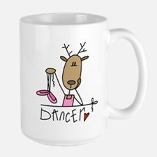 Dancer Reindeer Large Mug