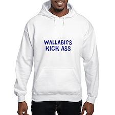 Wallabies Kick Ass Hoodie
