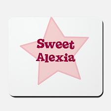 Sweet Alexia Mousepad