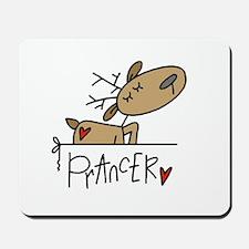 Prancer Reindeer Mousepad