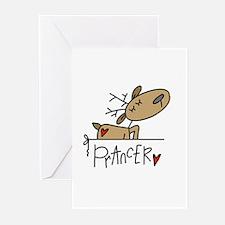 Prancer Reindeer Greeting Cards (Pk of 10)