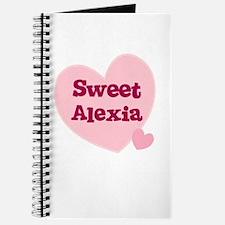 Sweet Alexia Journal