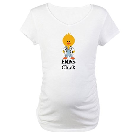 PM&R Chick Maternity T-Shirt