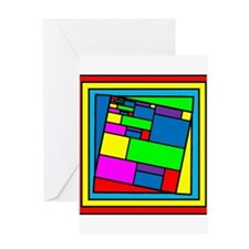 Cool Secondary colors Greeting Card