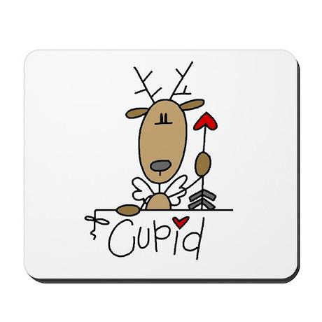 Cupid Reindeer Mousepad