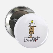 "Donner Reindeer 2.25"" Button (100 pack)"