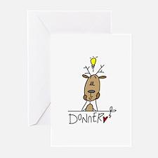 Donner Reindeer Greeting Cards (Pk of 10)