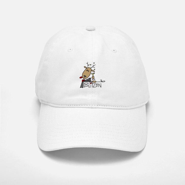 Blitzen Reindeer Cap