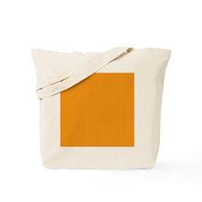 Orange Linen Look Tote Bag