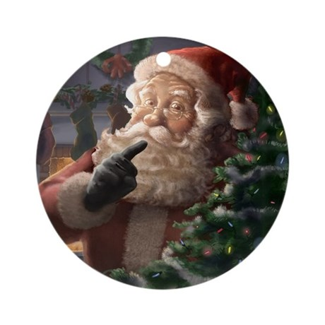 Santa Claus (Piebrand) Christmas Tree Ornament