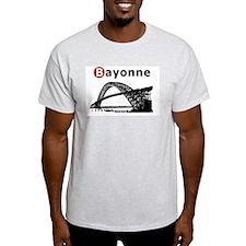 Bayonne High School, NJ Ash Grey T-Shirt
