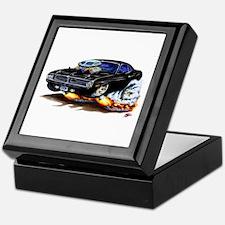 Cuda Black Car Keepsake Box