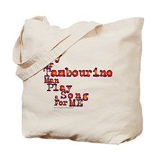 Mr Tambourine Man/Dylan Tote Bag