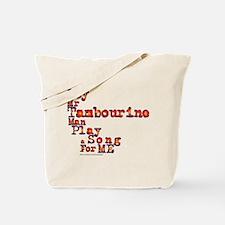 Mr Tambourine Man/Dylan Tote Bag