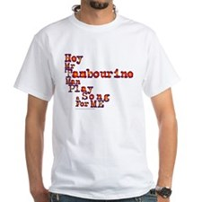 Mr Tambourine Man/Dylan Shirt