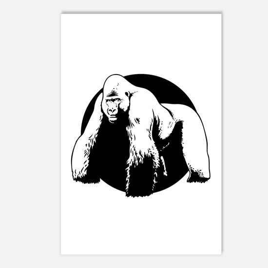 Silverback Postcards (Package of 8)