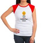Hepatology Chick Women's Cap Sleeve T-Shirt
