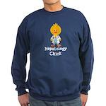 Hepatology Chick Sweatshirt (dark)