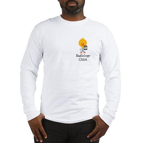 Radiology Chick Long Sleeve T-Shirt