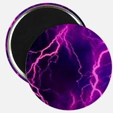 Pink Lightning Look Magnet