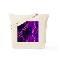Pink Lightning Look Tote Bag