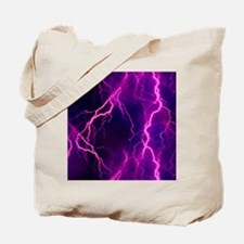 Pink Lightning Look Tote Bag