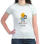 Rad Tech Chick Jr. Ringer T-Shirt