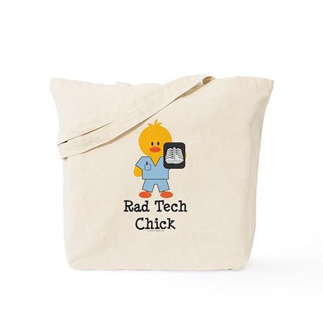 Rad Tech Chick Tote Bag